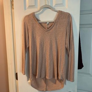 Charlotte Russe Blush Sweater sz L
